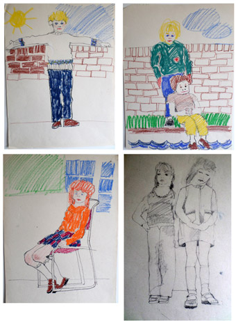 Drawing like a child project 1969