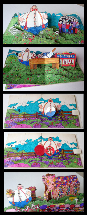Robin the Bobbin, The Big Bellied Ben pop up book