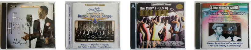 Fred Astaire, British Dance Bands, The Many Faces of Boogie Woogie, The Jazz Vocal Collection.