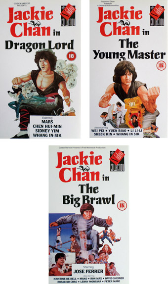 The Jackie Chan series!
