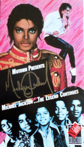 Michael Jackson - The Legend Continues video sleeve