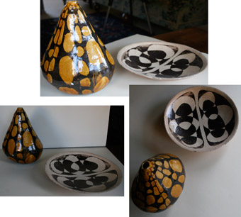 My pottery made at Swavesey Village College